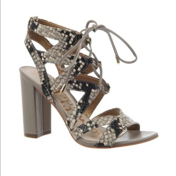 d5f87016ad5c Sam Edelman Snake Yardley sandal size 8.5. M 5b1c351daa571924c0159cff